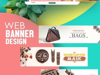 Banner and marketing content