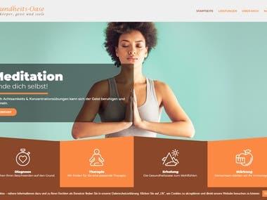 A Wellness Website