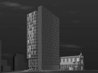 High Rise building 19fl.