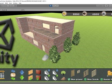 Dynamic Building System in Unity3D