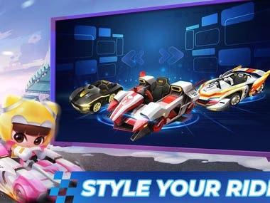 Unity 3D Race Game