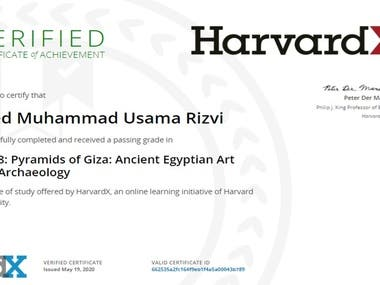 Diploma in Archaeology
