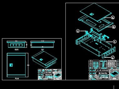 CAD PROJECT FOR LASERR CUTTING