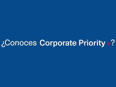 Aeromexico - Corporate Priority