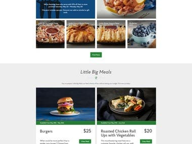 Foods Website ♛ React.js