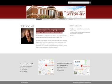 Warren County Attorney ♛ Wordpress