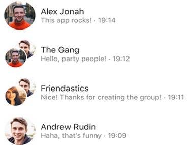 Chatting App ♛ React Native