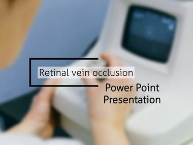 Retinal Vein Occlusion - PowerPoint presentation