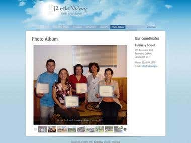 Just one simple site reikiway.ca