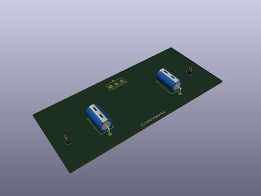 PCB routing KiCAD