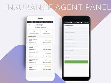 Insurance agent application
