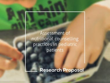 Nutritional Counselling - Research Proposal