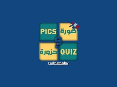 Quiz Game in Arab Languege
