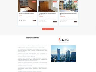 Property Listing Real Estate Website