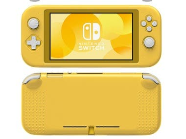 Product Rendering - Case - Nintendo Switch - Corona