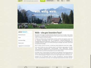 PSD to Wordpress Responsive Theme - lumaschafwolle.ch