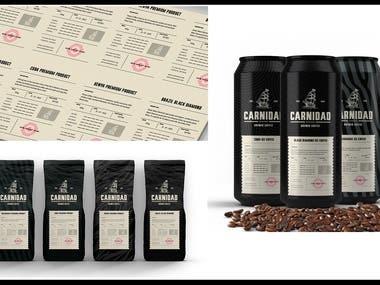 Carnidad coffee - Packaging