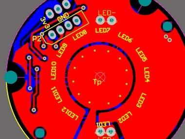 Solar LED Based PCB