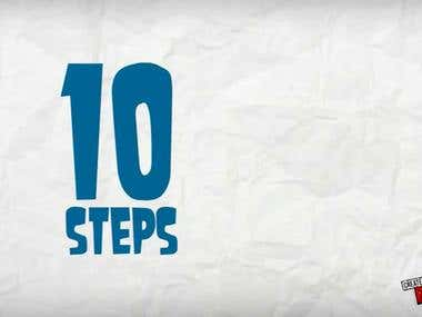 10 Steps to get Projects Completed !