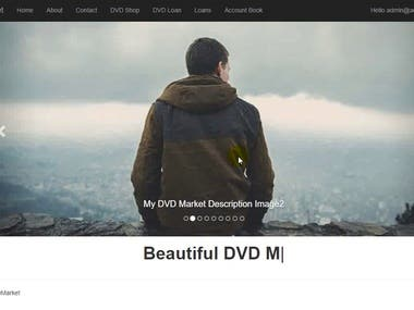 DVD Marcket Web Site