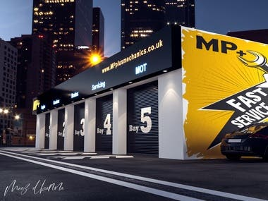 MP+ Mechanics Front Store Design