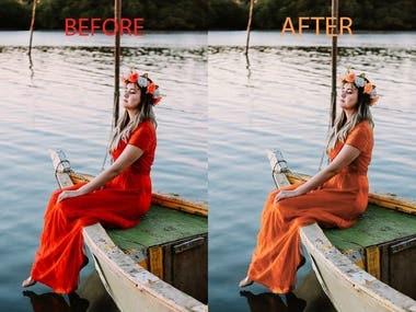 Color changes