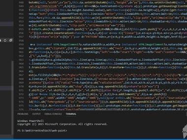 Canvas Javascript Library web applications