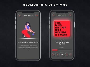 Mavi music App Design