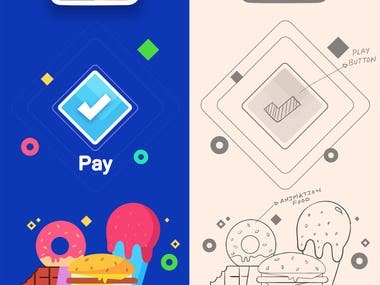 Mr. Ice Cream App Design