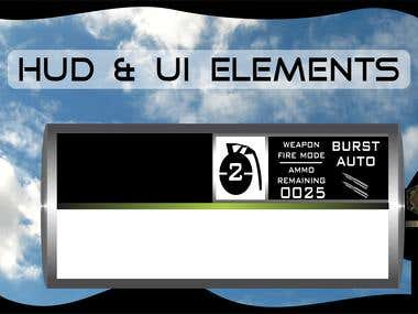 Game HUD and UI Elements