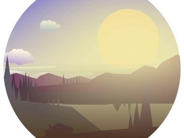 Sunsets animation