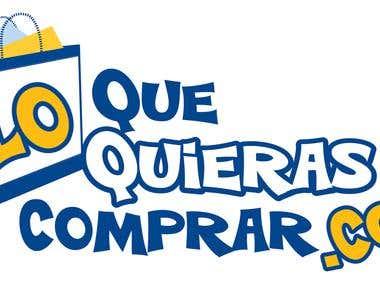 """Logo Design """"Lo Que Quieras Comprar"""""""