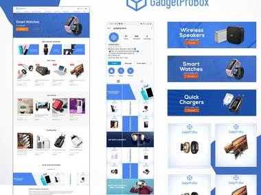 E-Commerce Website & Branding