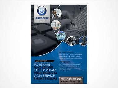 Brochure & print designs
