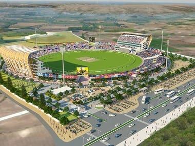 Sports Stadium Visualization