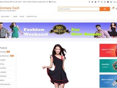 Woocommerce Site Full Task