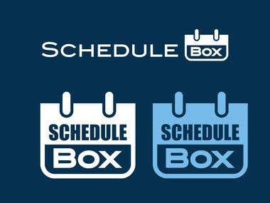 Graphic Design for ScheduleBox