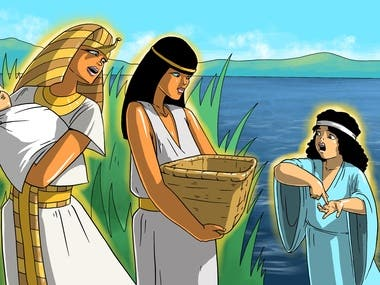 Bible stories for children illustrations