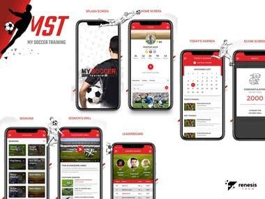 Soccer Training Application