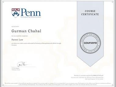 Patent Law-University of Pennsylvania
