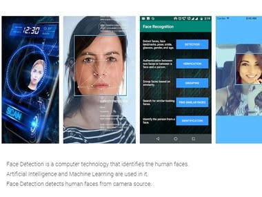 Face recognition Ionic app