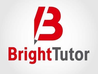Bright Tutors - Branding (logo and a4 leaflet design)