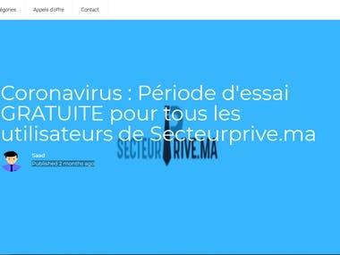 Blog for SecteurPrive