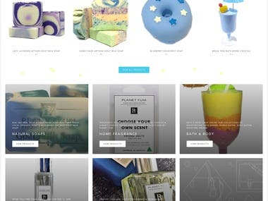 Shopify eCommerce Website for Lazydaze Beauty