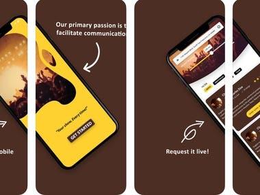 SongMe iOS Application