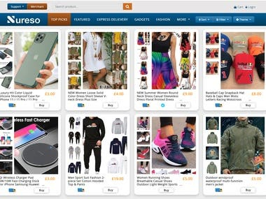 Ecommerce(Codeigniter) - Partial Working