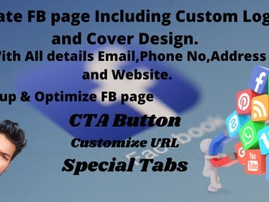 create, optimize and promote facebook page