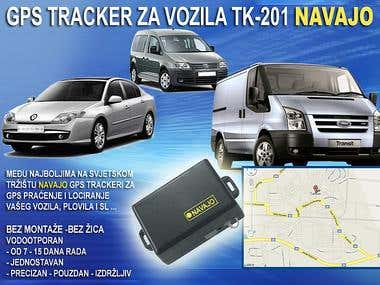 GPS tracking, locating system for vehicles