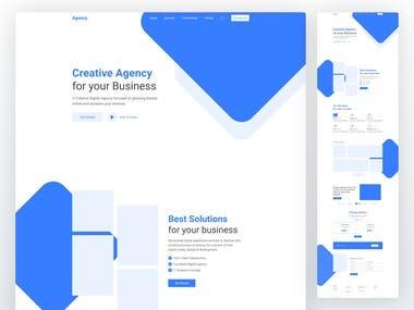 Creative Consultant Website