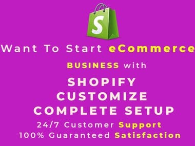 Shopify Site
